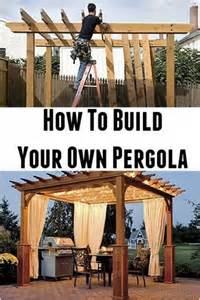 How Much To Build A Pergola by Diy Pergola The Whoot