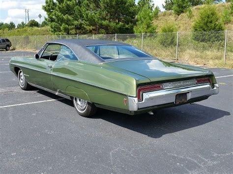 1968 pontiac bonneville 122260 miles green black