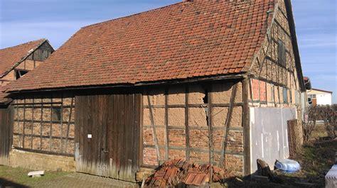 scheune restaurieren fachwerkgefache mit porenbeton ausmauern