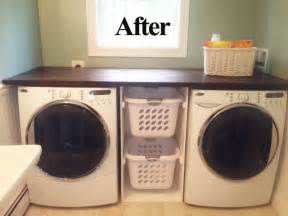 monday diy washer dryer counter top for