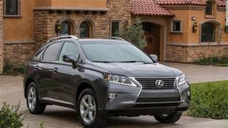 luxury midsize large suvs lexus rx most reliable cars