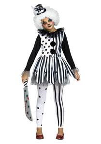it the clown costumes for halloween killer clown costume for girls