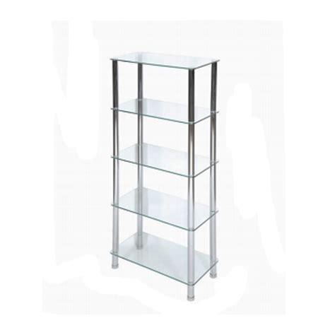 clear glass shelving unit jarrold norwich