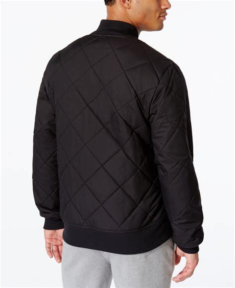Jaket Adidad 03 Black adidas originals originals s superstar bomber jacket in black for lyst