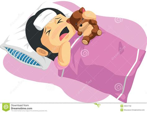 has fever of a fever stock vector image 39347732