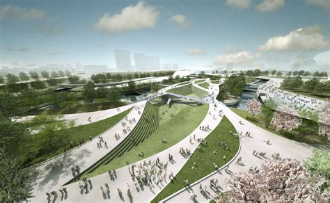 Landscape Architect Who Designed Central Park Heneghan Peng Architects Olympics 2012