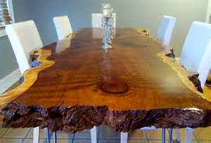 Redwood Kitchen Table Live Edge Table Live Edge Dining Table Live Edge Redwood Table Item 29