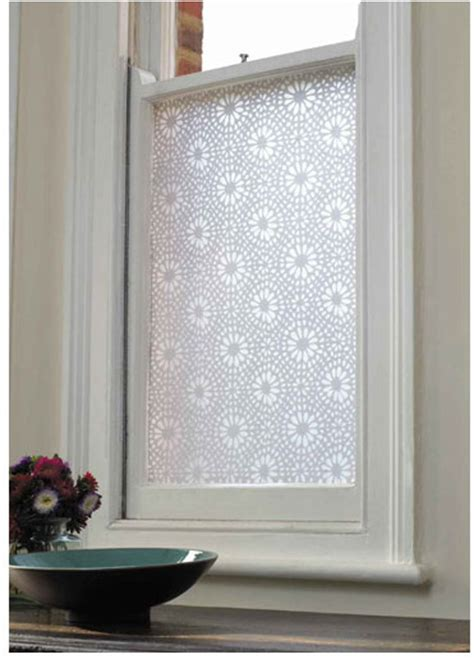 bathroom privacy window film bright idea privacy decorative adhesive window film by