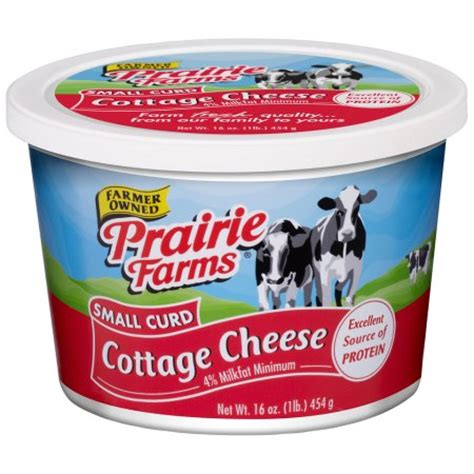 prairie farms small curd cottage cheese 16 oz walmart