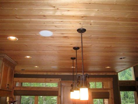 Knotty Pine Ceiling Boards by Knotty Pine Kitchen Ceiling Vintage Kitchen Ideas