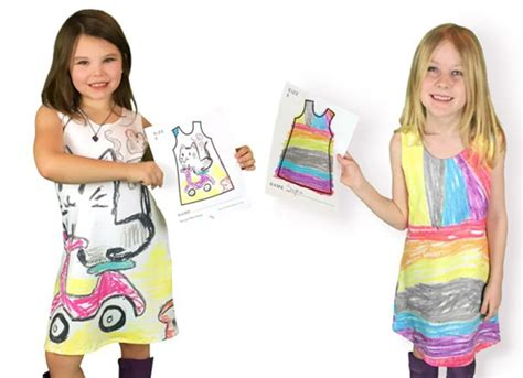 fashion design your own clothes this company lets kids design their own clothes bored panda