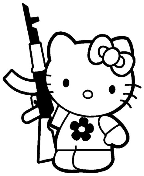 hello kitty devil coloring pages zombie hello kitty coloring pages