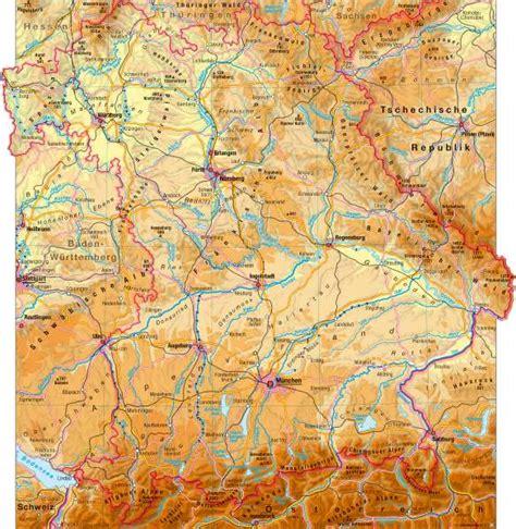 gebirgskarte deutschland diercke weltatlas kartenansicht landschaften