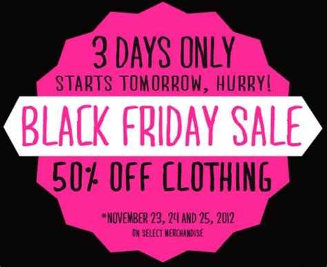 Ardene Black Friday Canada 2012 Sale ? 50% Off Clothing   Canadian Freebies, Coupons, Deals