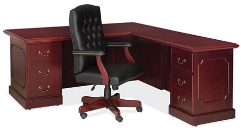 Sauder Traditional L Shaped Desk Os 900 Traditional L Shaped Office Desk