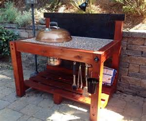 Backyard Grill Table 25 Best Ideas About Bbq Table On Weber Bbq