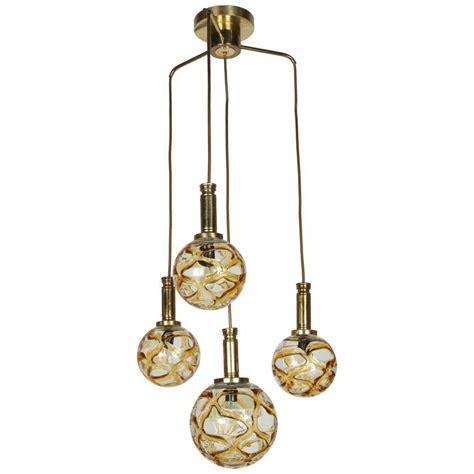 Organic Lighting Fixtures Organic Globe Four Light Fixture By Doria For Sale At 1stdibs
