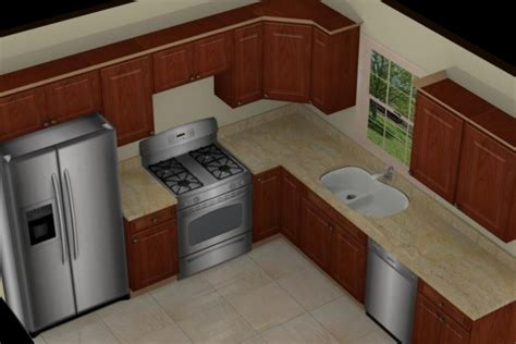 small l shaped kitchen ideas 9x9 kitchen cabinets house design and decorating ideas
