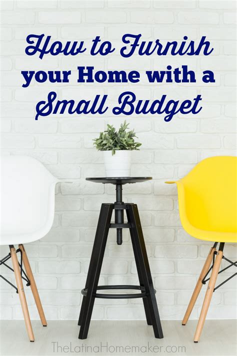furnish your home how to furnish your home with a small budget the