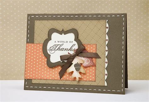 Handmade Thanksgiving Card Ideas - 17 best images about thank you cards on the