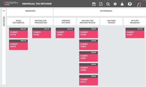 kanban workflow kanban for accounting firms management stack
