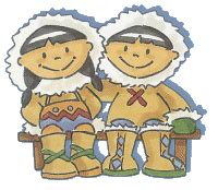 imagenes otoño infantiles imagenes ni 241 os esquimales para imprimir polo norte