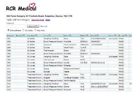 Biomedical Equipment List by Biomedical Equipment List When We Calibrate Your Equipment Devices We List All Your