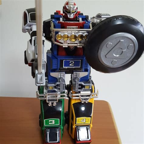 Megazord Turbo Daizyujin Turbo Base Power Ranger power rangers turbo deluxe turbo megazord toys bricks figurines on carousell