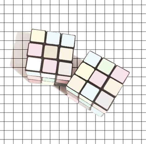 Kalung Korea Pink Geometry Square on black hair dye pastel and design