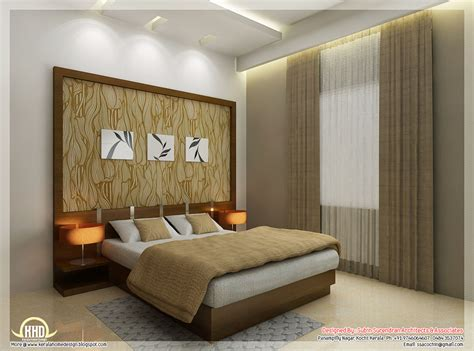 interior bedroom beautiful interior design ideas kerala house design idea