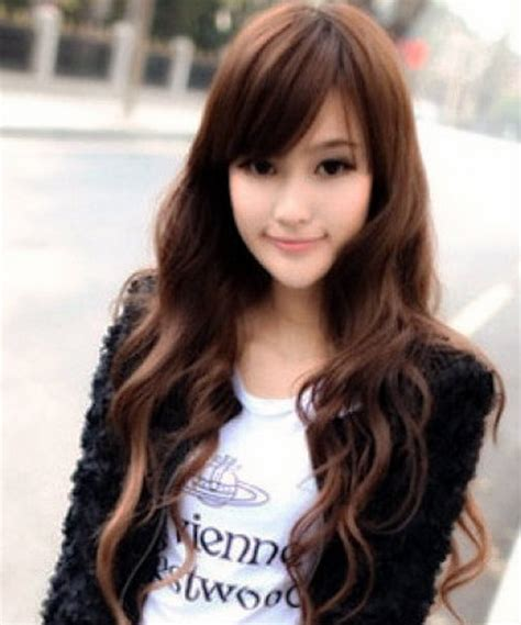 waivy korean hair style korean curly hairstyles