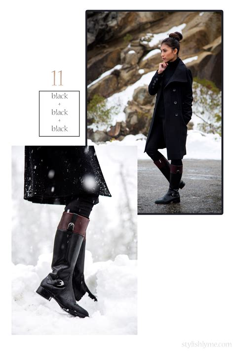 black riding 20 stylish ways to wear boots