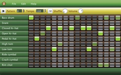drum pattern for garageband 101 best images about free music tech resources on