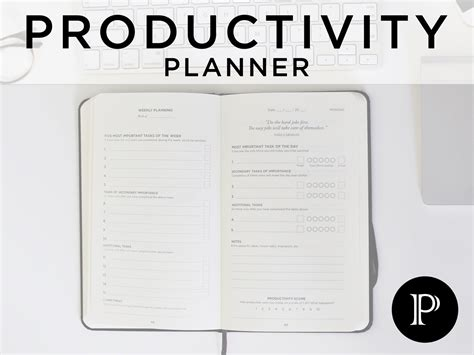 5 Minute Journal Productivity Planner High Existence 5 Minute Journal Template