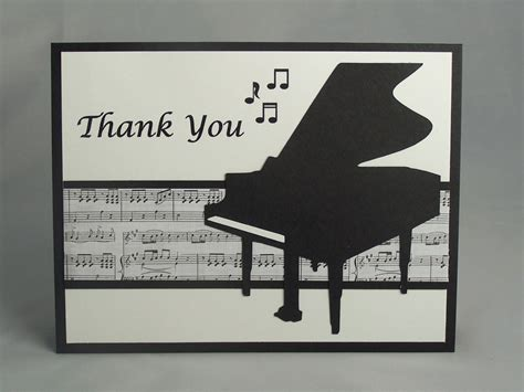 Handmade Songs - handmade appreciation card thank you