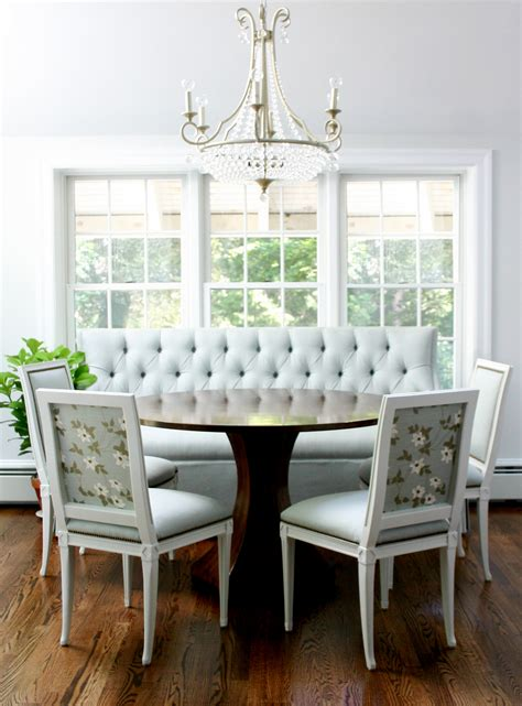 kitchen table with corner bench seating design banquette corner