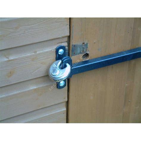 Door Knob Security Bar by Shed Door Security Bars Security Direct