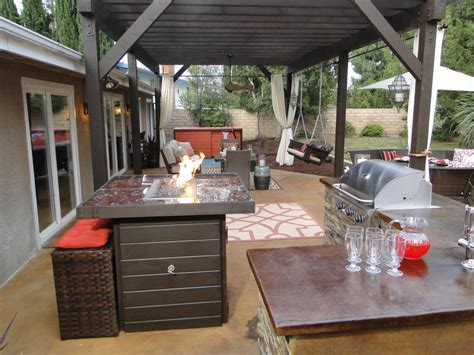exterior kitchen cheap outdoor kitchen ideas hgtv