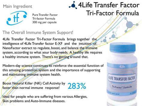 Transfer Factor Tri 4life 4life Transfer Factor Trifactor Formula Immunity Booster