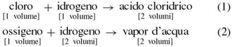 volumi uguali di gas diversi la teoria atomico molecolare sapere it