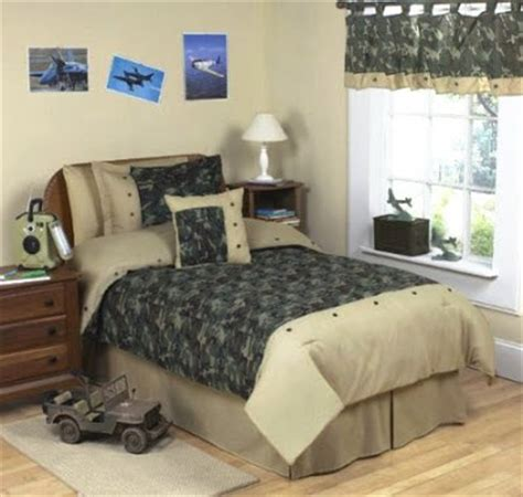 bedroom decor ideas and designs army camo themed