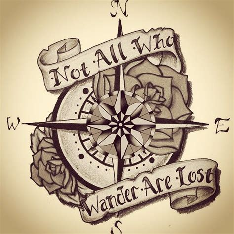 compass tattoo with quote 17 best ideas about compass on