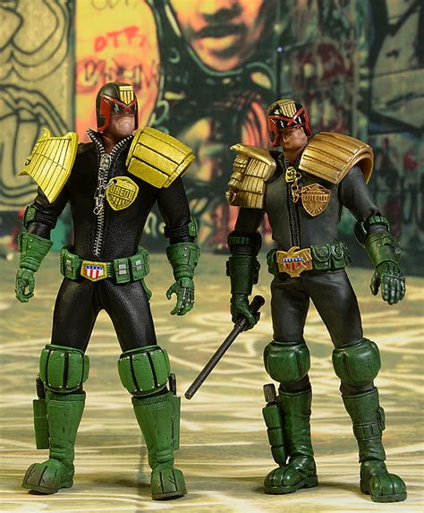 figure ad review and photos of 3a judge dredd 2000 ad 1 12 figure