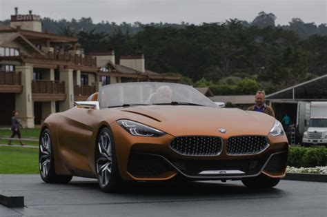 new bmw 2018 z4 new bmw z4 to be unveiled at the 2018 pebble