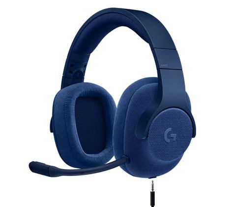 Jual Headset Gaming Logitech by Logitech G433 7 1 Gaming Headset Blue Deals Pc World