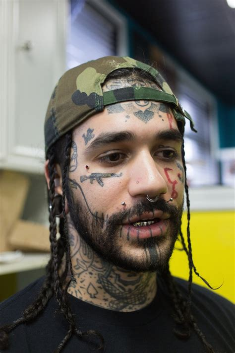 eyeball tattoo vice people with face tats explain their ink vice united states