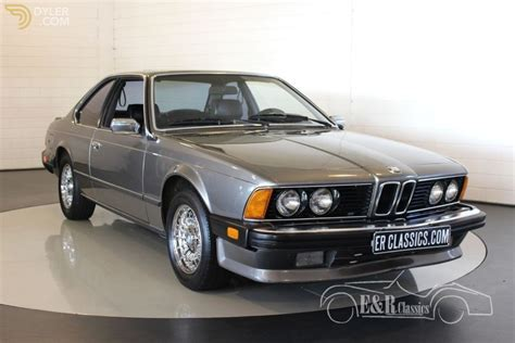Bmw 635csi For Sale by Classic 1985 Bmw 635 Csi Coupe For Sale 3291 Dyler
