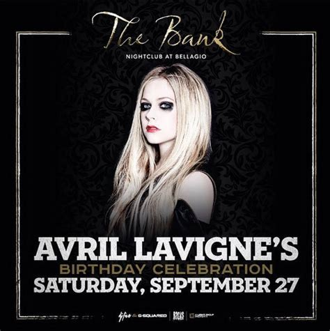 Theres An Avril Duffs Feud by Avril Lavigne To Host 30th Birthday Blowout In Las Vegas