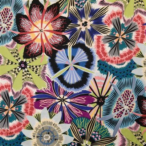 Missoni Upholstery Fabric by Discover The Missoni Home Passiflora Fabric T50 1