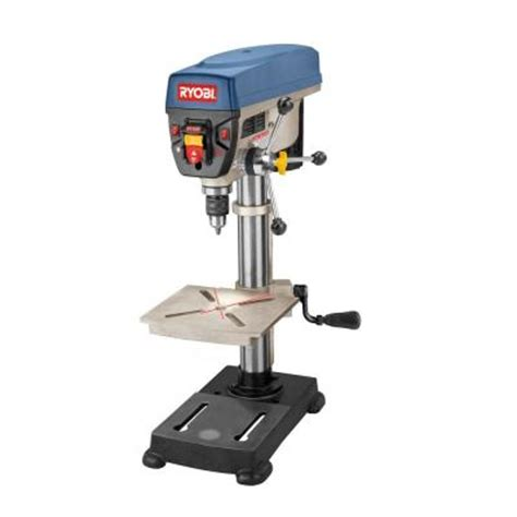 ryobi 10 in drill press dp102l the home depot
